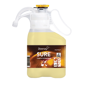 100919510 SURE Cleaner and Degreaser SmartDose 1.5L Diversey